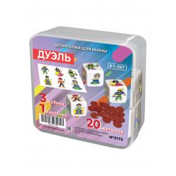 Дуэль 5-7 лет (мини кубики)...